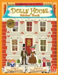 Dolls' House Sticker Book (Paperback)