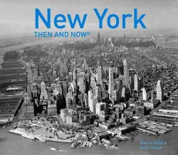 New York Then and Now (Paperback)