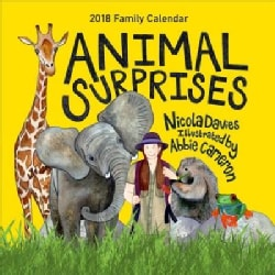 Animal Surprises 2018 Family Calendar (Calendar)