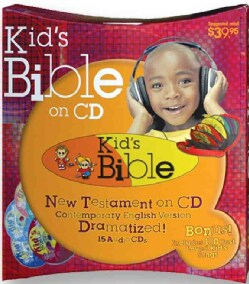 Holy Bible: Contemporary English Version, New Testament, Kid's Bible (CD-Audio)