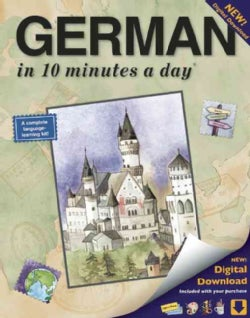 German in 10 Minutes a Day (Paperback)
