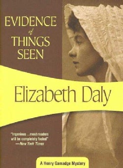 Evidence of Things Seen (Paperback)