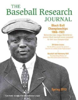The Baseball Research Journal, Spring 2013 (Paperback)
