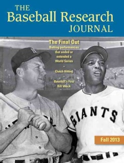 The Baseball Research Journal, Fall 2013 (Paperback)