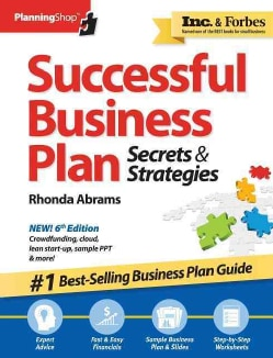 Successful Business Plan: Secrets & Strategies, America's Best-Selling Business Plan Guide! (Paperback)