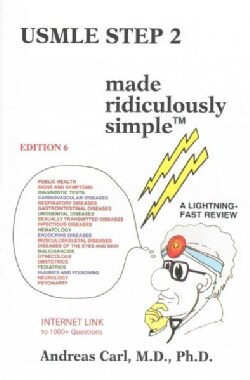USMLE Step 2 Made Ridiculously Simple (Paperback)
