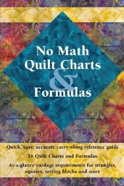 No Math Quilt Charts & Formulas (Paperback)