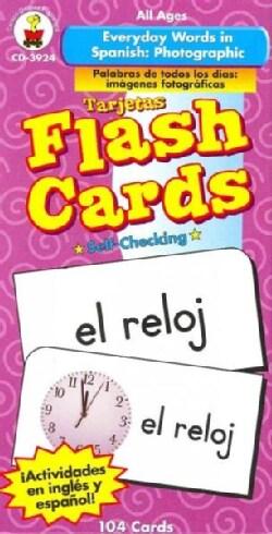 Everyday Words in Spanish/ Palabras de todos los dias: Photographic/ Imagenes fotograficas (Cards)
