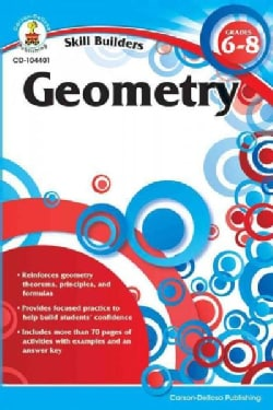 Skill Builders Geometry Grades 6-8 (Paperback)