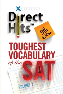 Direct Hits Toughest Vocabulary of the Sat (Paperback)