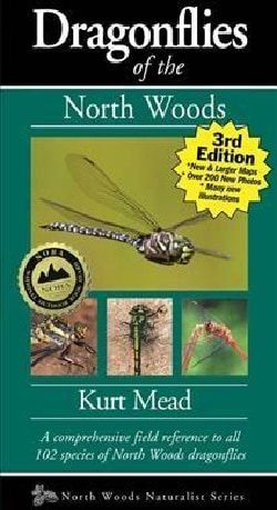 Dragonflies of the North Woods (Paperback)