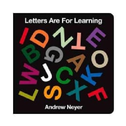 Letters Are for Learning (Board book)