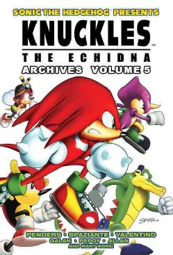 Knuckles the Echidna Archives 5 (Paperback)