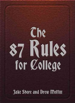 The 87 Rules for College (Paperback)