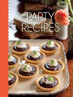 Tiny Book of Party Recipes: For Special Occasions (Hardcover)