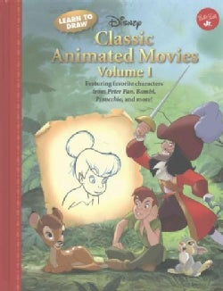 Learn to Draw Disney Classic Animated Movies (Hardcover)