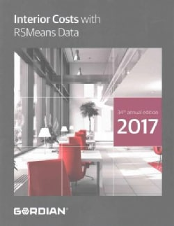 Interior Costs With Rsmeans Data: 2017 (Paperback)