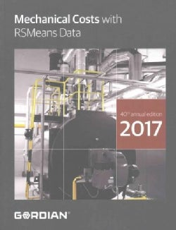 Mechanical Costs With RSMeans Data 2017 (Paperback)