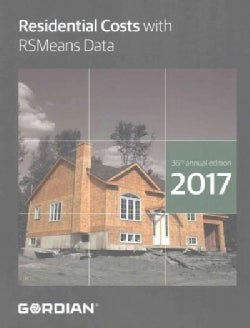 Residential Costs With RSMeans Data 2017 (Paperback)