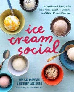 Ice Cream Social: 100 Artisanal Recipes for Ice Cream, Sherbet, Granita, and Other Frozen Favorites (Paperback)
