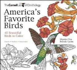 America's Favorite Birds: 40 Beautiful Birds to Color (Paperback)