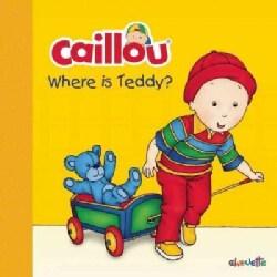 Where Is Teddy? (Board book)