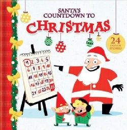 Santa's Countdown to Christmas: 24 Days of Stories (Hardcover)