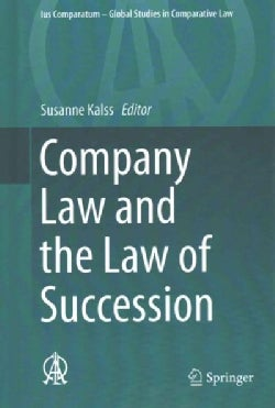Company Law and the Law of Succession (Hardcover)