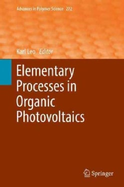 Elementary Processes in Organic Photovoltaics (Hardcover)