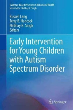 Early Intervention for Young Children With Autism Spectrum Disorder (Hardcover)