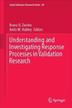 Understanding and Investigating Response Processes in Validation Research (Hardcover)
