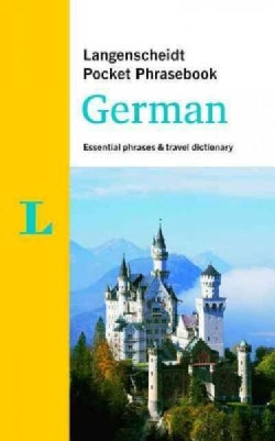 Langenscheidt Pocket Phrasebook German: Essential Phrases & Travel Dictionary (Paperback)