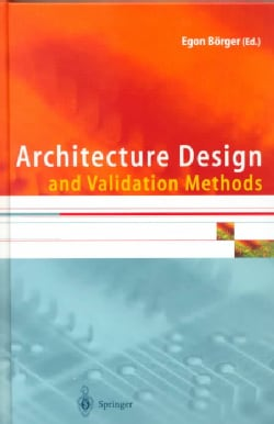 Architecture Design and Validation Methods (Hardcover)