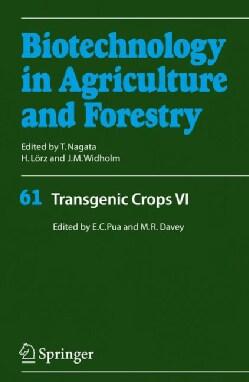 Transgenic Crops VI (Hardcover)