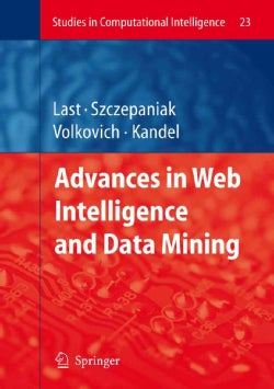 Advances in Web Intelligence and Data Mining (Paperback)