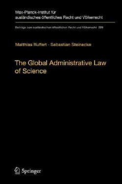 The Global Administrative Law of Science (Hardcover)