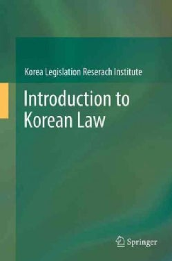 Introduction to Korean Law (Paperback)