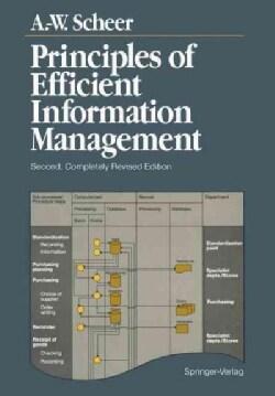 Principles of Efficient Information Management (Paperback)