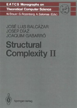 Structural Complexity II (Paperback)