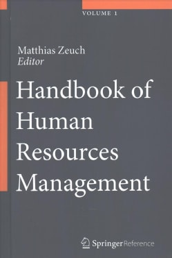Handbook of Human Resources Management (Hardcover)