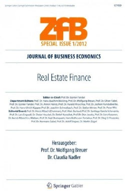 Real Estate Finance (Paperback)