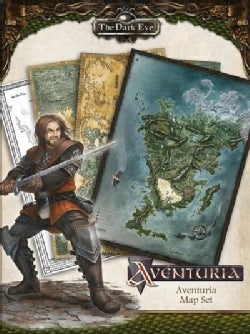 The Dark Eye: Aventuria Map Set (Paperback)