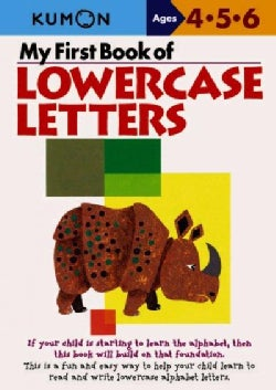 My First Book Of Lowercase Letters (Paperback)