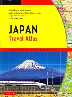 Japan Travel Atlas (Paperback)