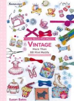 Cross Stitch Mini Motifs: Vintage: More Than 60 Mini Motifs (Paperback)