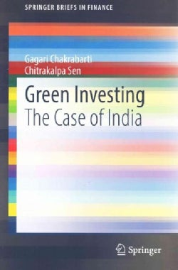 Green Investing: The Case of India (Paperback)