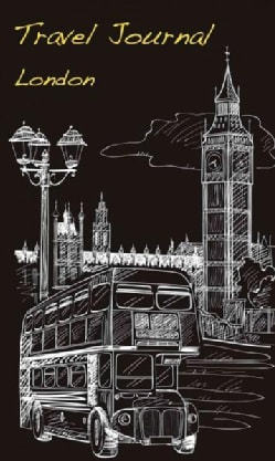 Travel Journal London (Notebook / blank book)