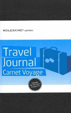 Moleskine Passions Travel Journal Carnet Voyage Black (Notebook / blank book)
