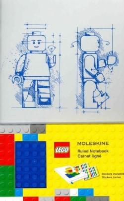 Moleskine Lego: Notebook II, Large, Ruled, White 5 X 8.25 (Notebook / blank book)