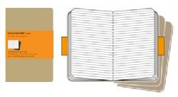 Moleskine Ruled Cahier Kraft Journal Large (Notebook / blank book)